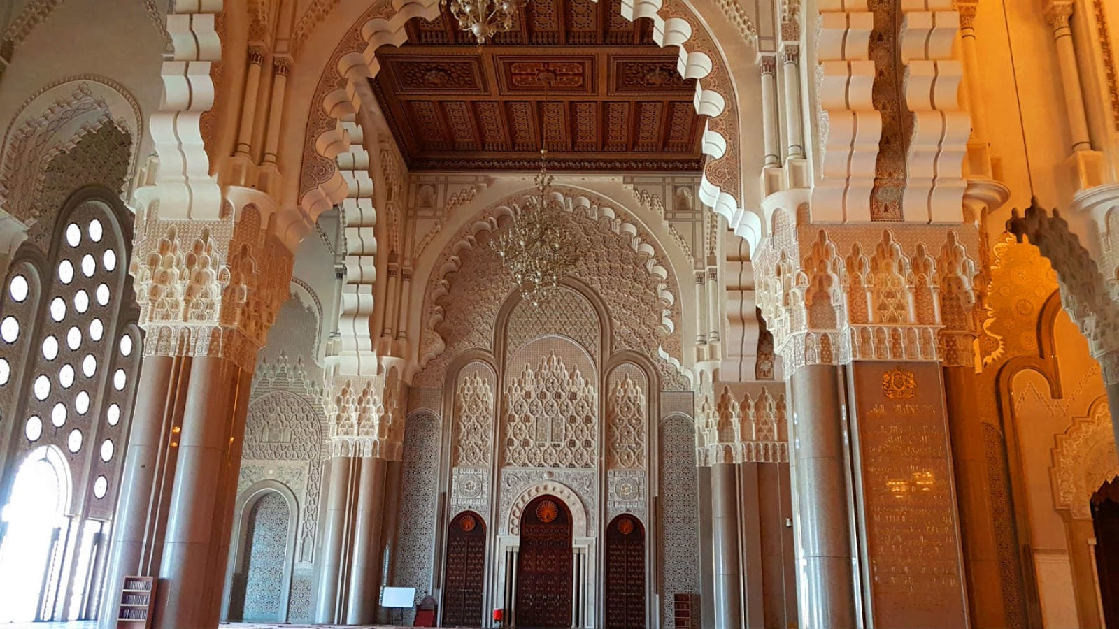 Mesquita Hassan II, Casablanca, Marrocos.