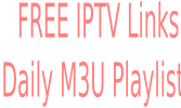 Free IPTV M3U Playlists 22 October 2017 NEW