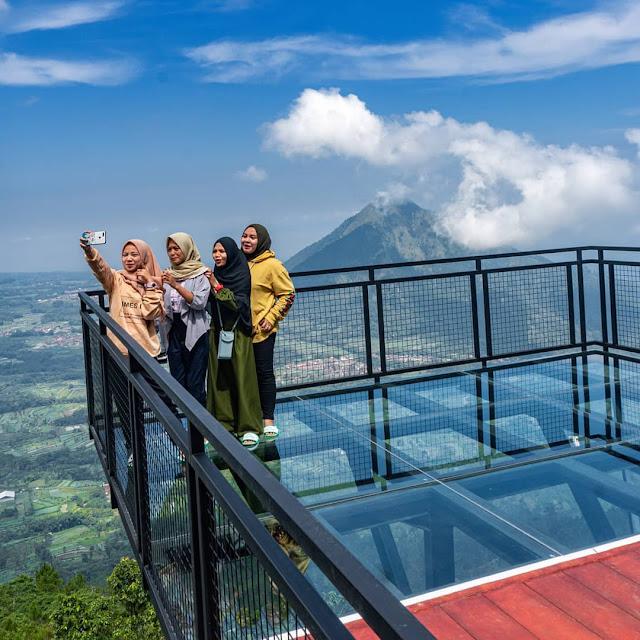 Lokasi Awang Awang Sky View Magelang
