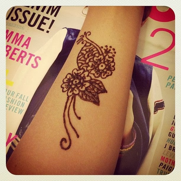 Cute Hand Henna Tattoo Ideas: Henna Tattoo Quotes. QuotesGram