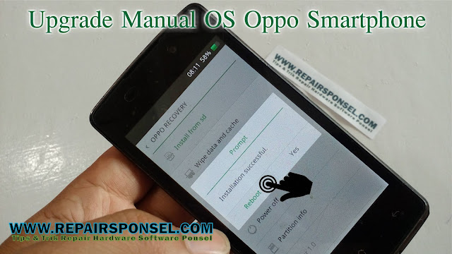 Upgrade Manual OS Oppo Smartphone