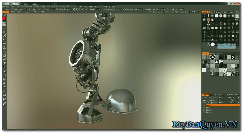 Download 3D Coat 4.8.40 Full Serial Key, Phần mềm thiết kế mô hình 3D chuyên nghiệp và đẳng cấp.