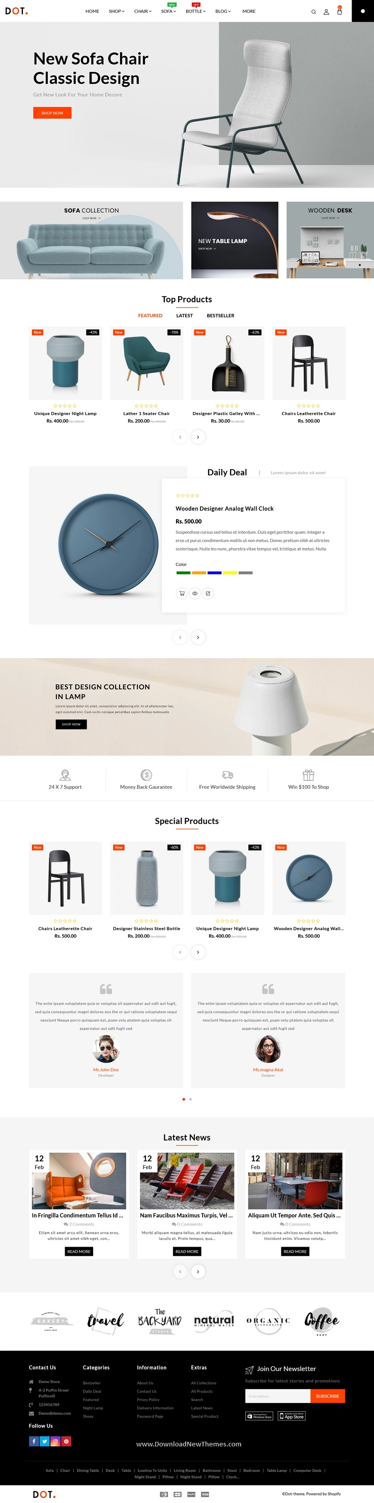 Furniture Shopify Responsive Theme