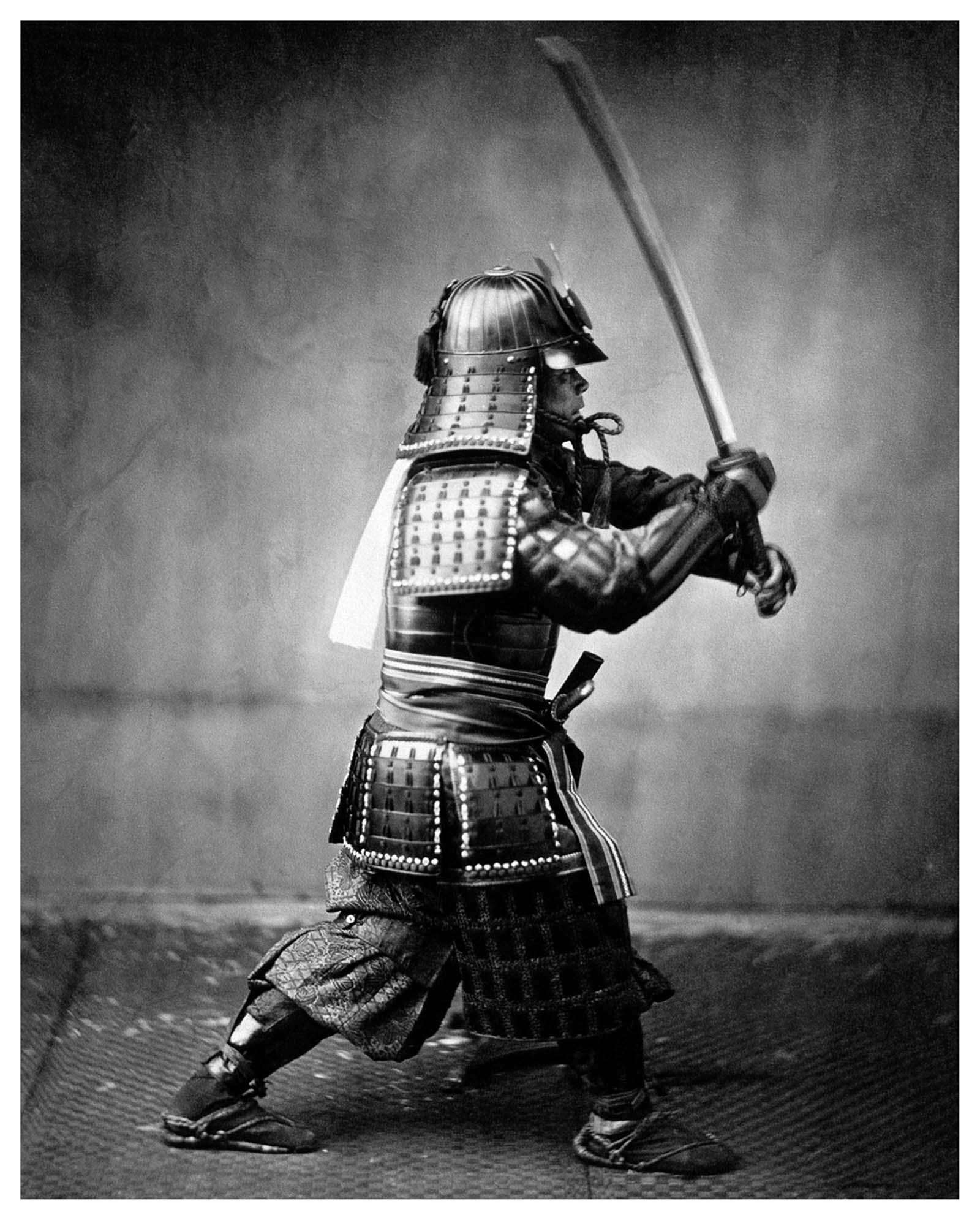 samurai color photos
