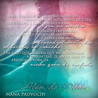 Livro Além do Olhar -Nana Pauvolih