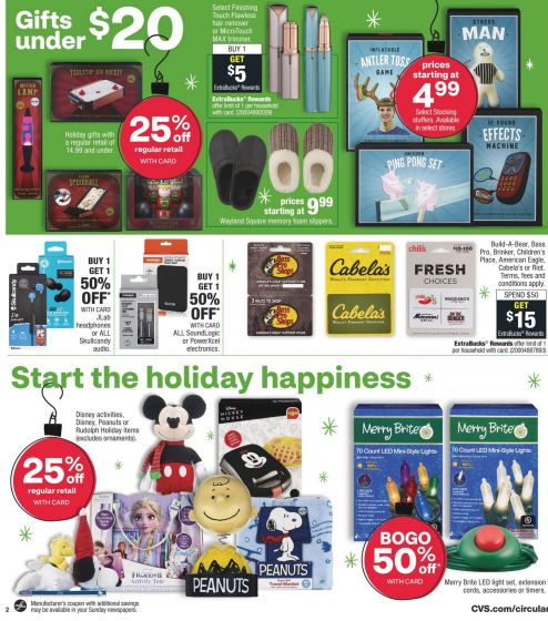 CVS Weekly Ad Preview 11/22-11/28