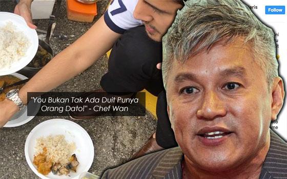 Makan Tepi Jalan, Ini Teguran 'Pedas' Chef Wan Buat Dato' Aliff Syukri
