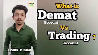 What is Demat account vs Trading account?   Investment Ideas by APDaga