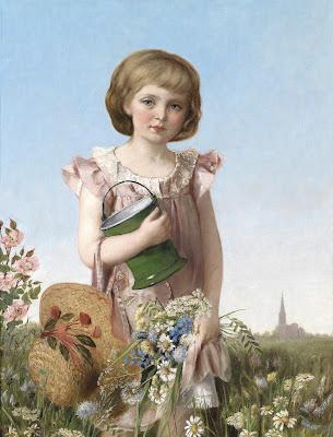 Un Petit Jardinier (1886), Antonie Boubong