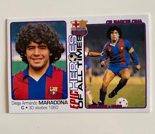 figurina maradona Barcelona