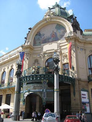 casa civica-Praga