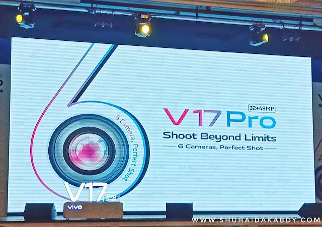 Vivo V17 Pro Dengan 6 Kamera Untuk Gambar Yang Lebih Mantap