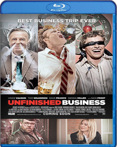 Unfinished Business [2015] [BD25] [Latino]