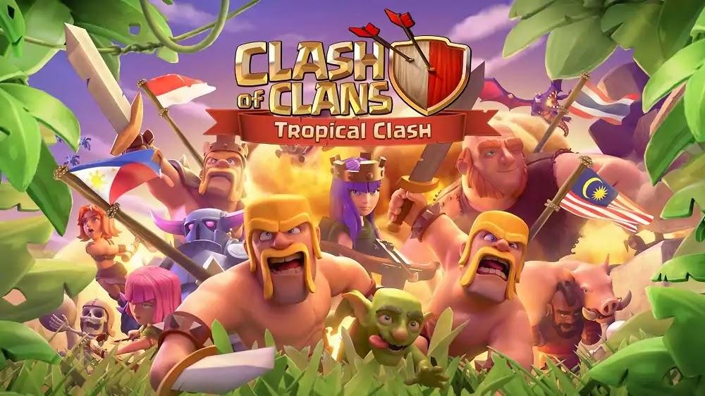 Clash of Clans - Tropical Clash