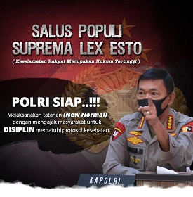 Polri Siap New Normal