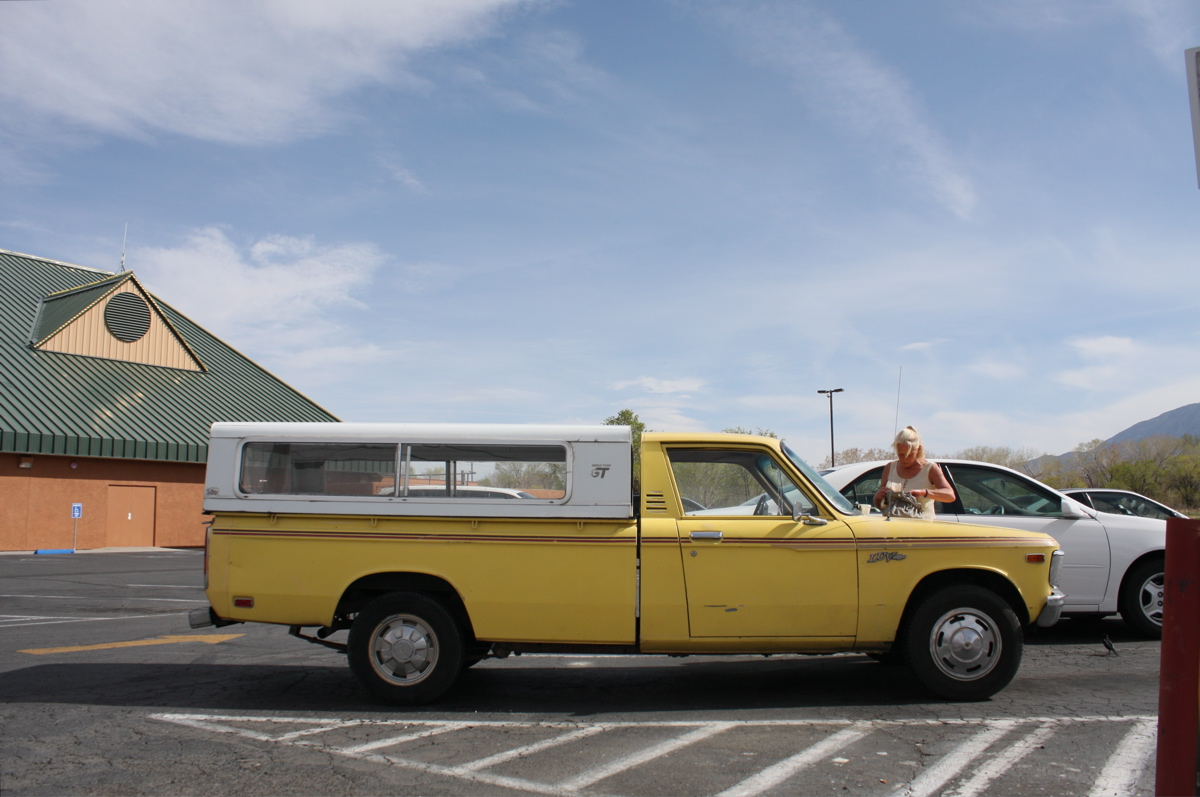 OLD PARKED CARS.: 1978 Chevrolet Luv.