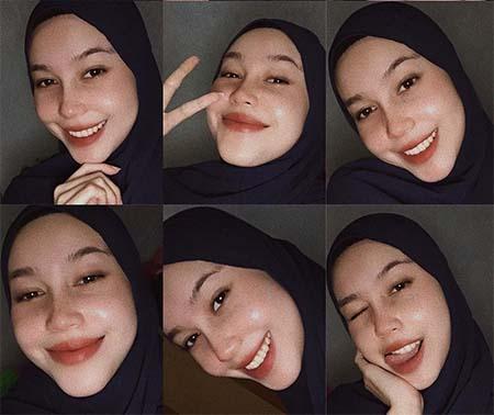 Bella Nurmala Pakai Jilbab