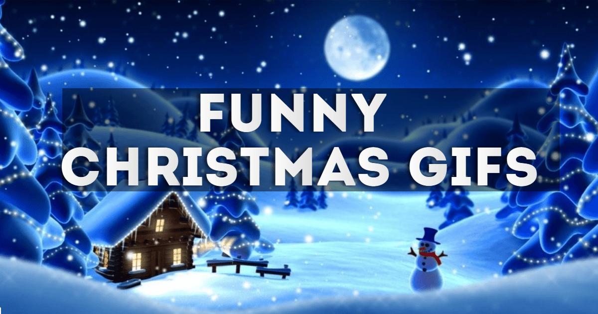 Funny Christmas Gifs