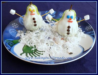 SnowPears | www.BakingInATornado.com | #recipe