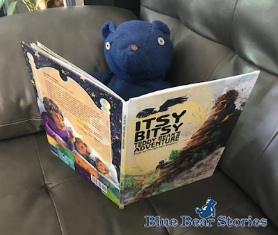Itsy Bitsy Teddy Bear's Adventure Blue Bear Approved