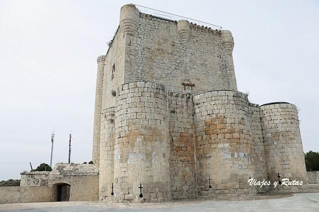 Entrada al Castillo de Íscar, Valladolid