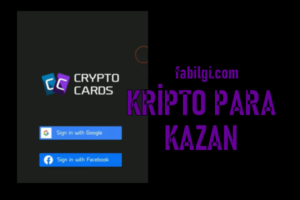Oyun Oynayarak Kripto Para Kazanma Crypto Card Uygulaması