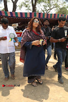Actress Kushboo Pos in Blue Salwar Kameez at Producer Council Election 2017  0005.jpg
