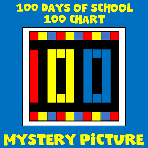 100th day of school mystery picture