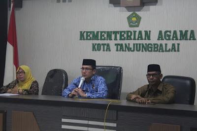 Kakankemenag Tanjungbalai Buka DDWK Guru IPS Madrasah