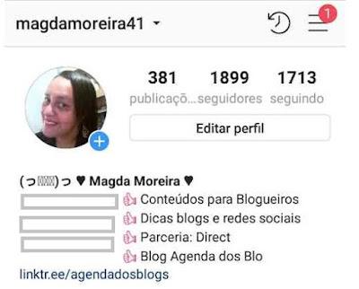 Bio centralizada no Instagram