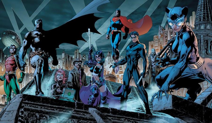 batman dc comics jim lee catwoman