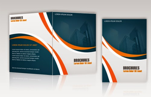 Free Business Brochure PSD Template