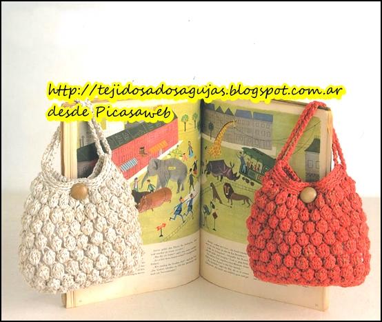 Tejidos a crochet ganchillo patrones regalos todos tejidos a ganchillo - Bolsos tejidos a ganchillo ...