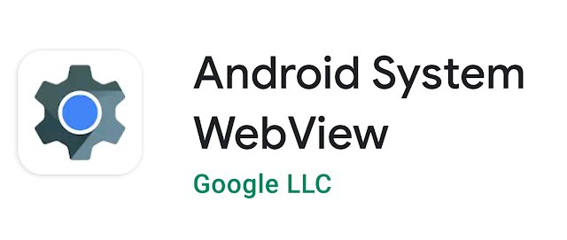 Why is the Android system WebView not updating?