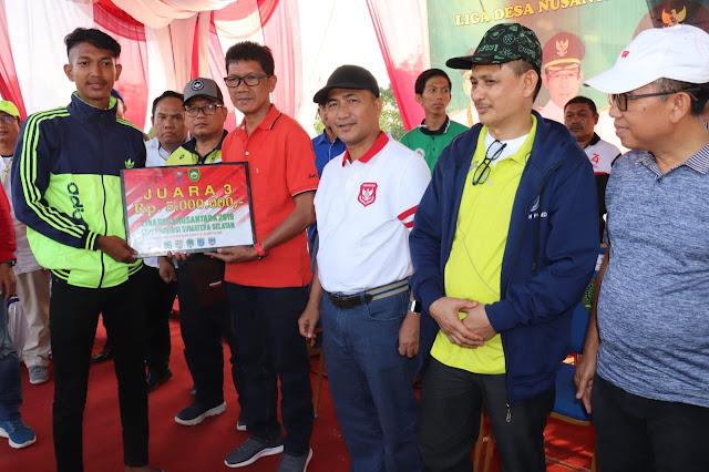Sekda Muba Tutup Kompetisi Liga Desa Nusantara