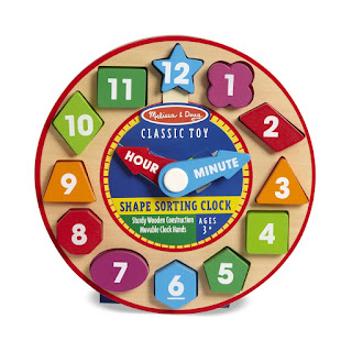 Melissa and doug clock toy unethically made and plagarized