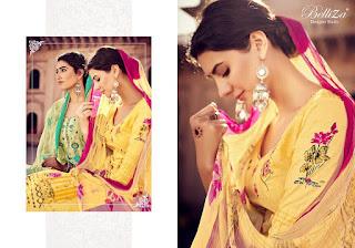 Belliza Designer noor Cotton Salwar kameez