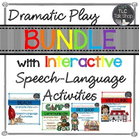 https://www.teacherspayteachers.com/Product/A-GROWING-BUNDLE-Dramatic-Play-with-Speech-Language-Activities-1966785