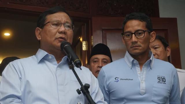 Prabowo Minta Aparat Tindak Ratna Sarumpaet Sesuai Hukum