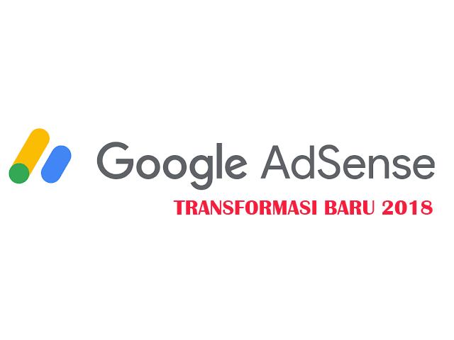Semakin Keren Google Adsense Dengan Logo Barunya di tahun 2018