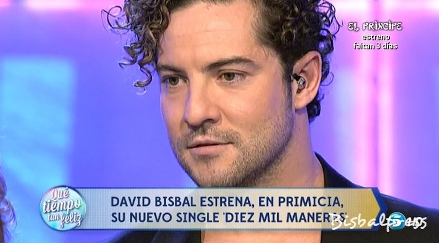 David bisbal nuevo single diez mil maneras