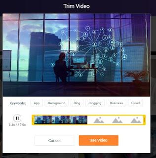 membuat video online hasil dari templatenya