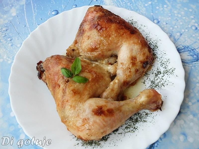 Kurczak w sosie majonezowo-chrzanowym (tylko 3 składniki)
