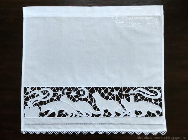 ришелье, вышивка ришелье, вышивка старинная, ажурная вышивка, белая вышивка