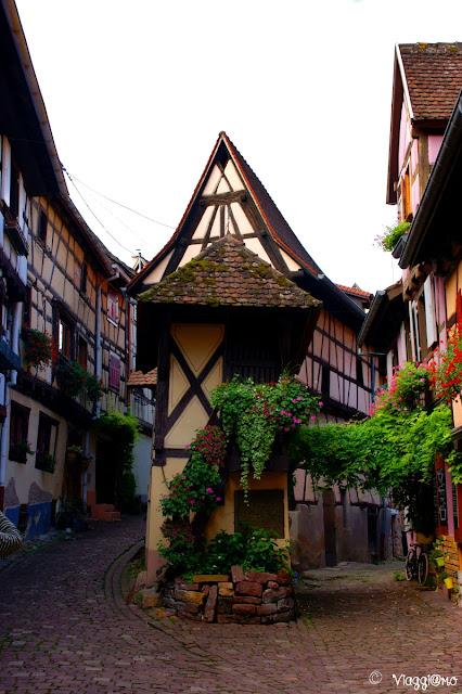 Uno degli scorci più fotografati di Eguisheim