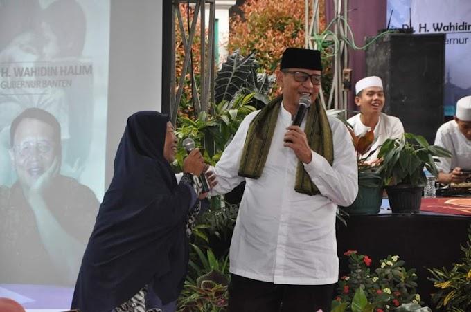 Gubernur Banten (WH)  : Saya Laksanakan Amanah Bapak Ibu Semua