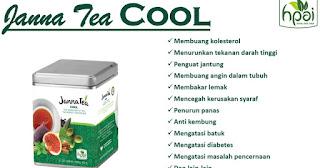 Khasiat janna tea hpai cool dan hot Original minuman obat herbal stamina