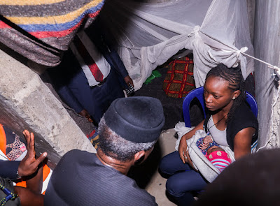 Photos Of VP Osinbajo Visiting Bayelsa Flood Victims