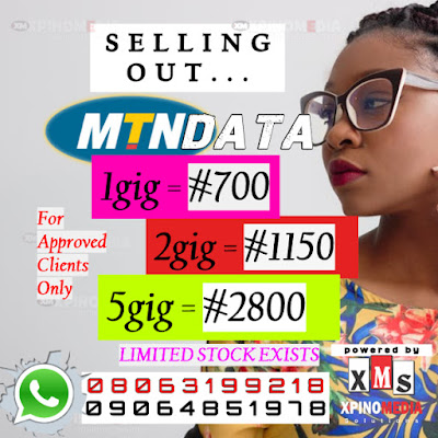 MTN data, Nigeria, Promo, Xpino Media, Cheapest Data,