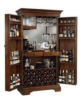 Decorilumina ideas para su snack bar en casa for Minibar de madera